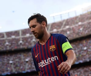 Barca, soccer, and lionel messi image