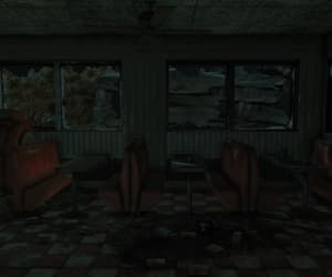 booth, dark, and fallout image