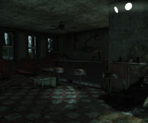 dark, fallout, and spooky image