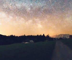 gökyüzü, yıldız, and samanyolu image