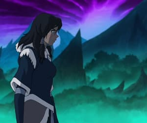 avatar, waterbending, and korra image