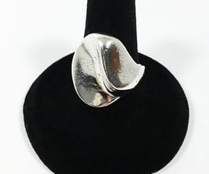 artisan, boho, and sterling silver image