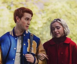 archie andrews, sabrina spellman, and riverdale crossover image