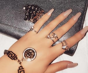 nails and Versace image