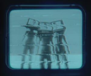 album, blue, and tv image