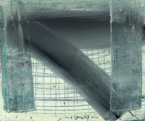 contemporary art, israeli artist, and abstract compositions image