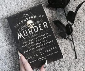 books, dark, and reading image