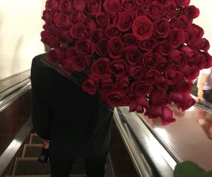 boyfriend, coca-cola, and flowers image