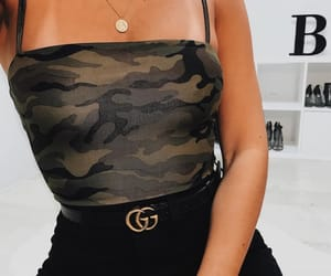 belt, camo, and camouflage image