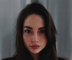aesthetic, beauty, and brunette image