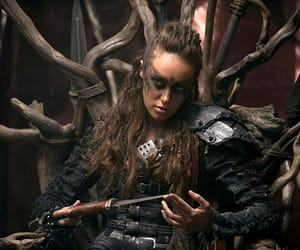 lexa, heda, and the hundred image