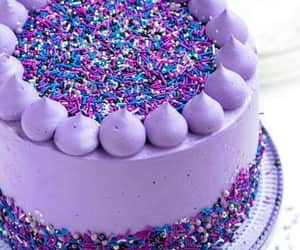 cake, colores, and lilac cake image