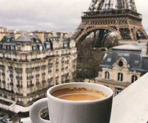 coffee, paris, and france image
