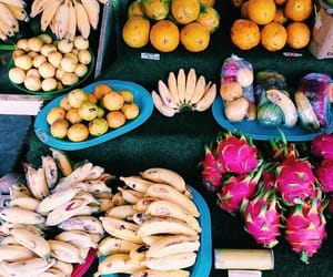 tropical, fruit, and summer image