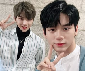 daniel, ong, and wanna one image