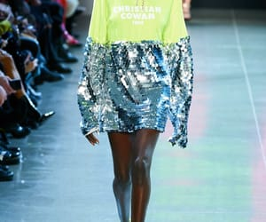 dress, fall, and fashion image