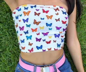 style, aesthetic, and butterfly image