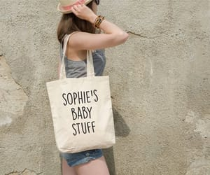 etsy, mom gift, and personalized tote image