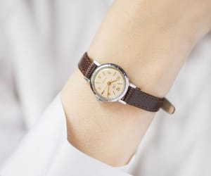 etsy, classical watch lady, and silver women watch image