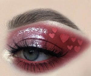 colors, heart, and yeux image