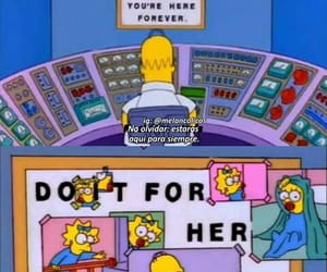 homer, simpsons, and Maggie image