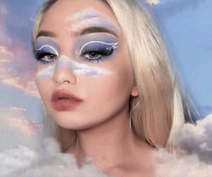 cloudy, look, and makeup image