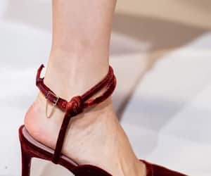 details, pumps, and red image
