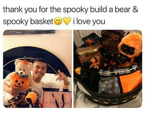 basket, gift, and cute image
