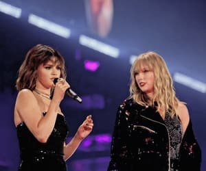selena gomez, Taylor Swift, and selenagomez image