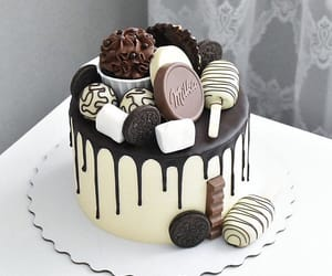 biscuit, cakes, and chocolate image