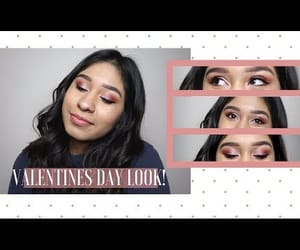 eyeshadow, makeup, and valentines day image