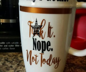 etsy, profanity, and tea mug image