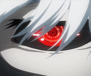 anime, eye, and ghoul image