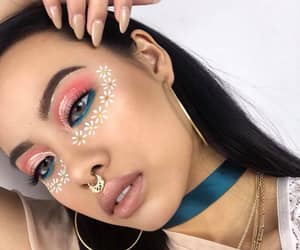 coachella, makeup, and pretty image