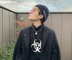 accessories, alternative, and asian boy image