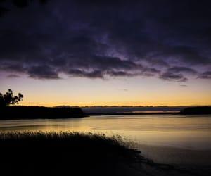 calm, lake, and photography image