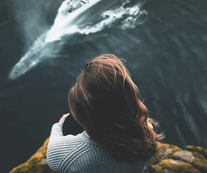 girl, sea, and photography image