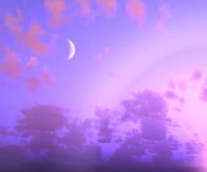 aesthetic, moon, and nature image