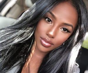 beautiful, makeup, and melanin image