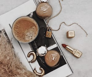 coffee, fashion, and jewelry image