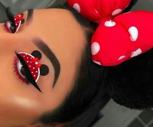 disney, look, and makeup image