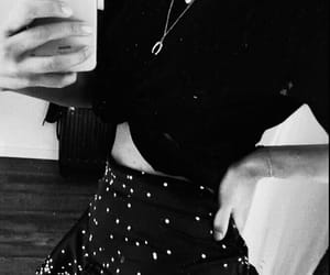 black, jewellery, and skinny image
