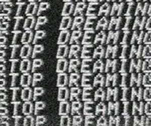 black and white, Dream, and dreaming image