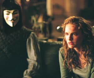 natalie portman, hugo weaving, and v for vendetta image