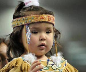 child, native american, and indian image