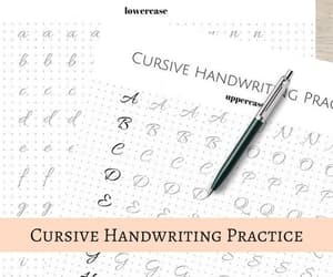 cursive, etsy, and guide image
