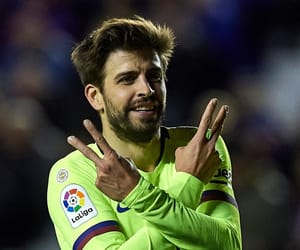 Barca, pique, and fc barcelona image