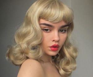 1950s, dreamy, and hair image