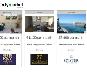flats for sale in malta and malta long term rentals image