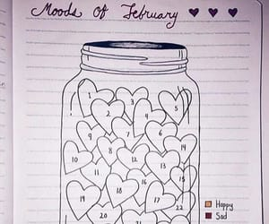 mood, mood tracker, and aesthetic image